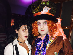 Mad Hatter & Edward Scissorhands