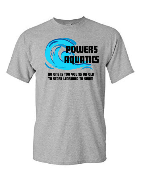 Powers Aquatics Adult Tee
