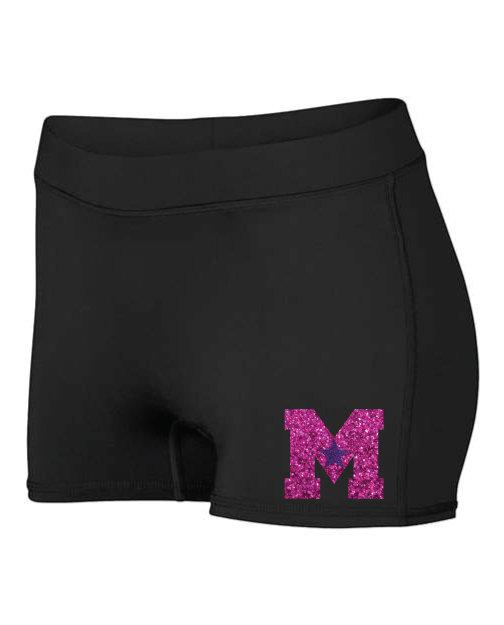 Maine Stars Spandex Shorts