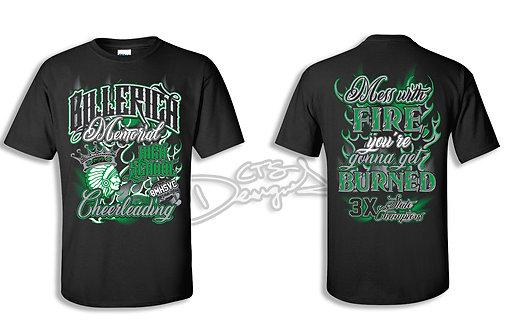 Billerica Memorial HS Cheer Shirt