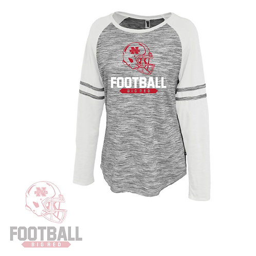 Big Red Ladies Long Sleeve