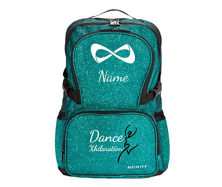 Teal Sparkle Nfinity Backpack