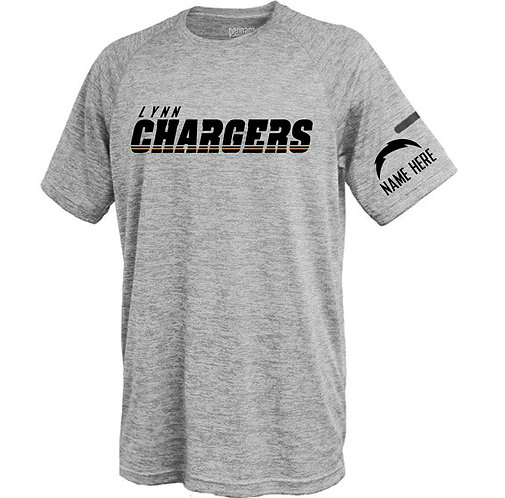 Chargers Poly Tee