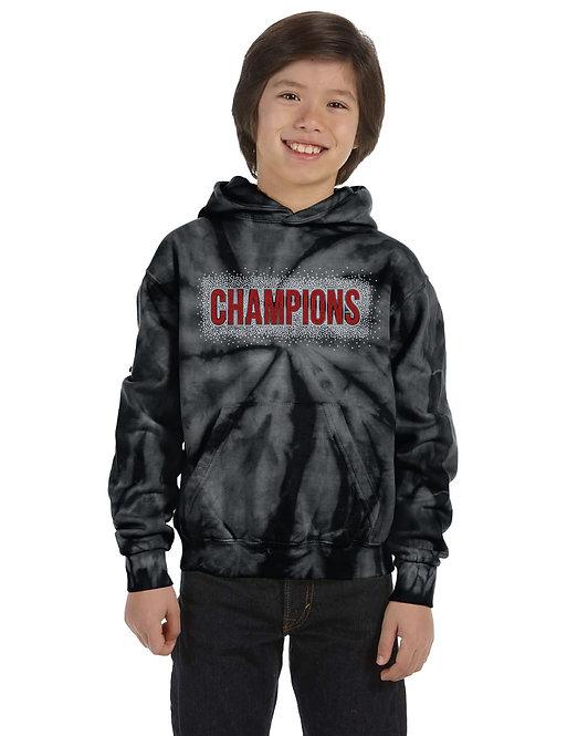 Champions Tie Dye  Hoodie