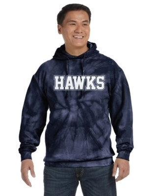 Hawks Tie Dye Hoodie