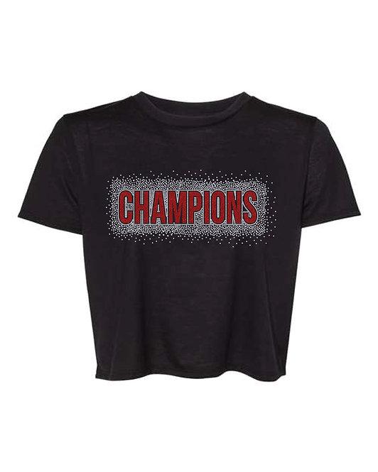 Champions Crop Tee