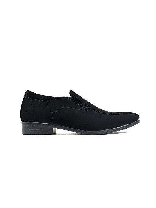 Chaussure à enfiler texturée Lami Noir