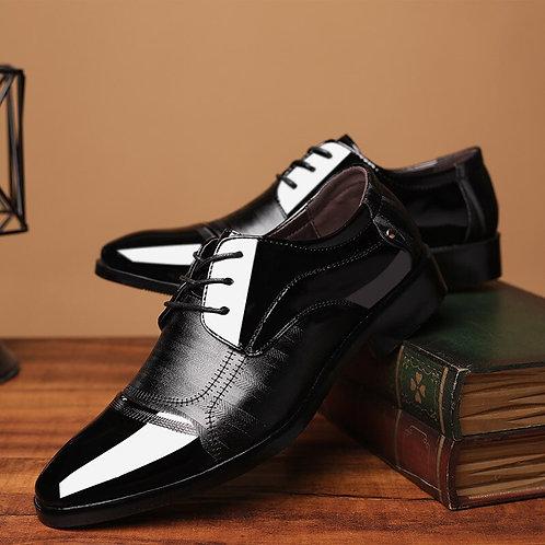 Hommes chaussures cuir entreprise oxford chaussures bureau mariage
