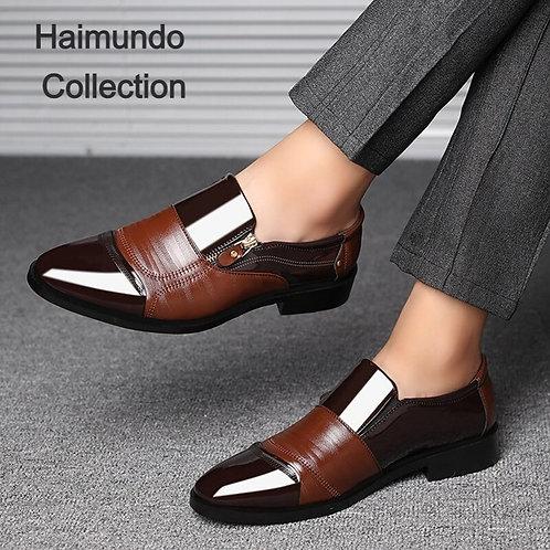 Chaussures habillées mode élégante formelles bureau Oxford