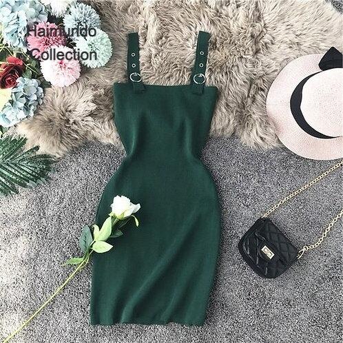 Nouveau Sexy poitrine basse mince solide extensible moulante Mini robes courtes
