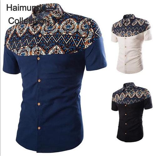 Chemises tendance style hawaien hommes