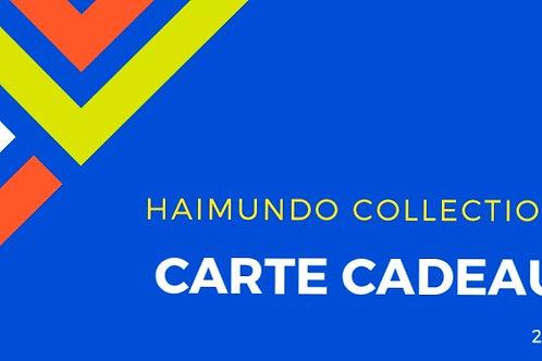 Cartes cadeau de Haimundo Collection