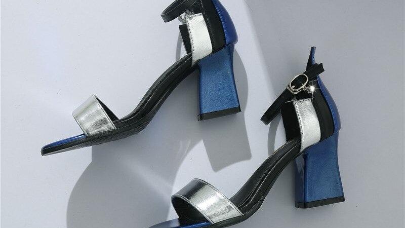 Sexy sandales femmes mode décontracté sandales à talons hauts