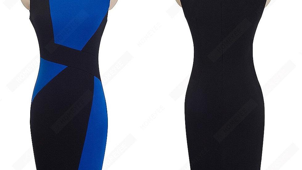 Robe élégante travail décontracté/ bureau gaine/  robe mince