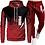 Thumbnail: capuche printemps vêtements pour hommes pull à capuche pantalon/ ensemble hommes