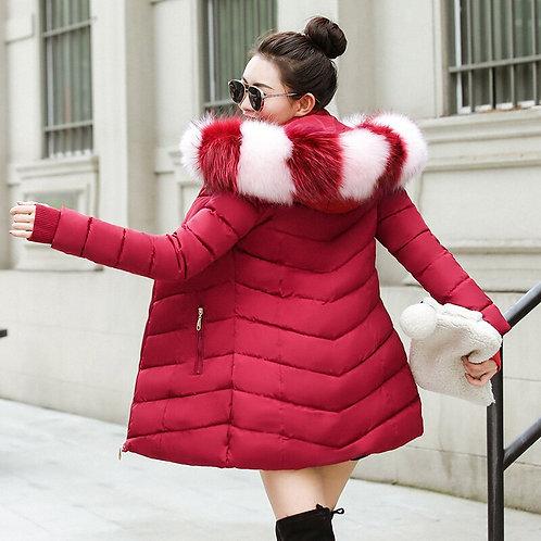 Hiver femmes veste 2020 épais chaud rembourré femmes manteaux d'hiver