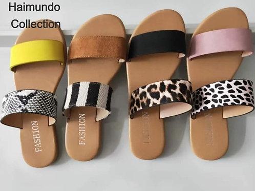 Sandales plats femmes/ Style de la saison