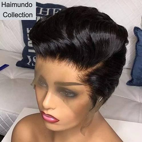 Perruques cheveux courtes humains