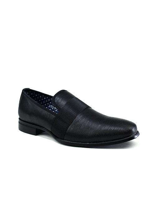 Chaussures à enfiler formelles pour hommes noire