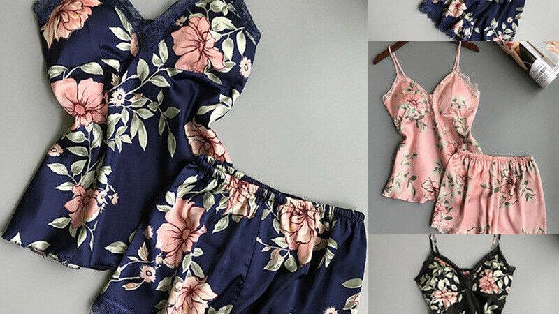 Pyjama sexy dentelle femmes/ vêtements col en V vêtements de nuit