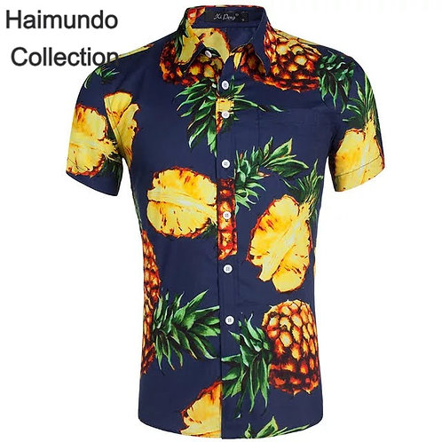 Chemise fruitier ananas hommes
