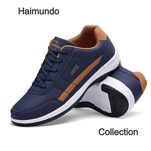 Nouvelle mode baskets pour hommes chaussures décontractées respirant à lacets