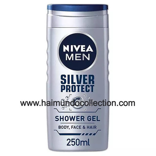 Gel douche Homme, / Nivea Silver Protect, 250 ml