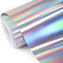 Holographic Permanent Vinyl