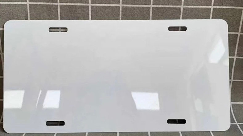 Sublimation License Plate