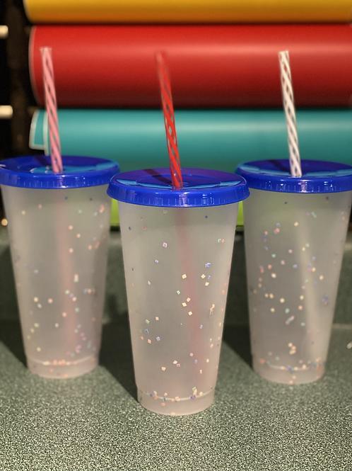 Colour Change Confetti Cup