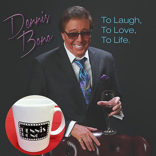 """To Laugh, To Love, To Life"" CD & Mug Combo"