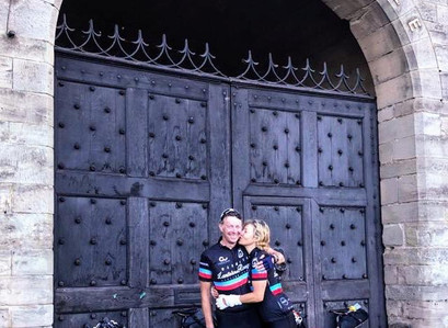 Day 8 - The Castle to Castle ride Completed
