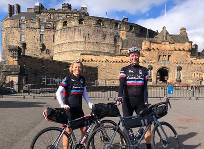 Day 1 - Edinburgh to Berwick upon Tweed - a great start