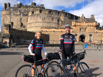 Day 1 - Edinburgh to Berwick upon Tweed - a great start
