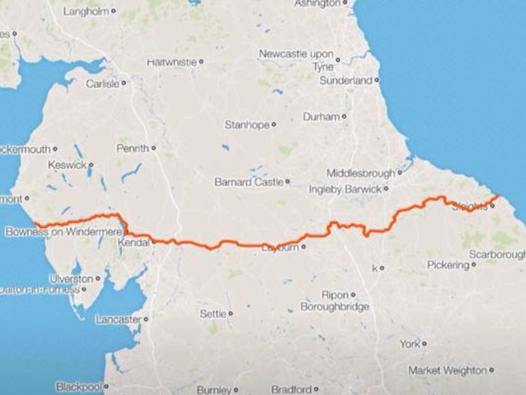 C2C in a day - 225km