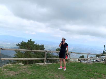 Girona Day 2 - Climbing Mare de Deu del Mont