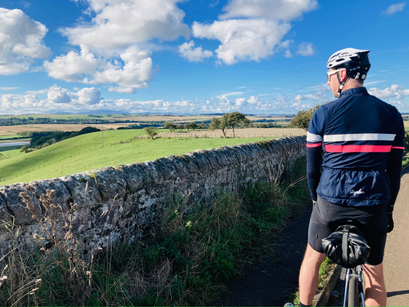 Day 2 - Berwick to Alwinton - a journey back in time