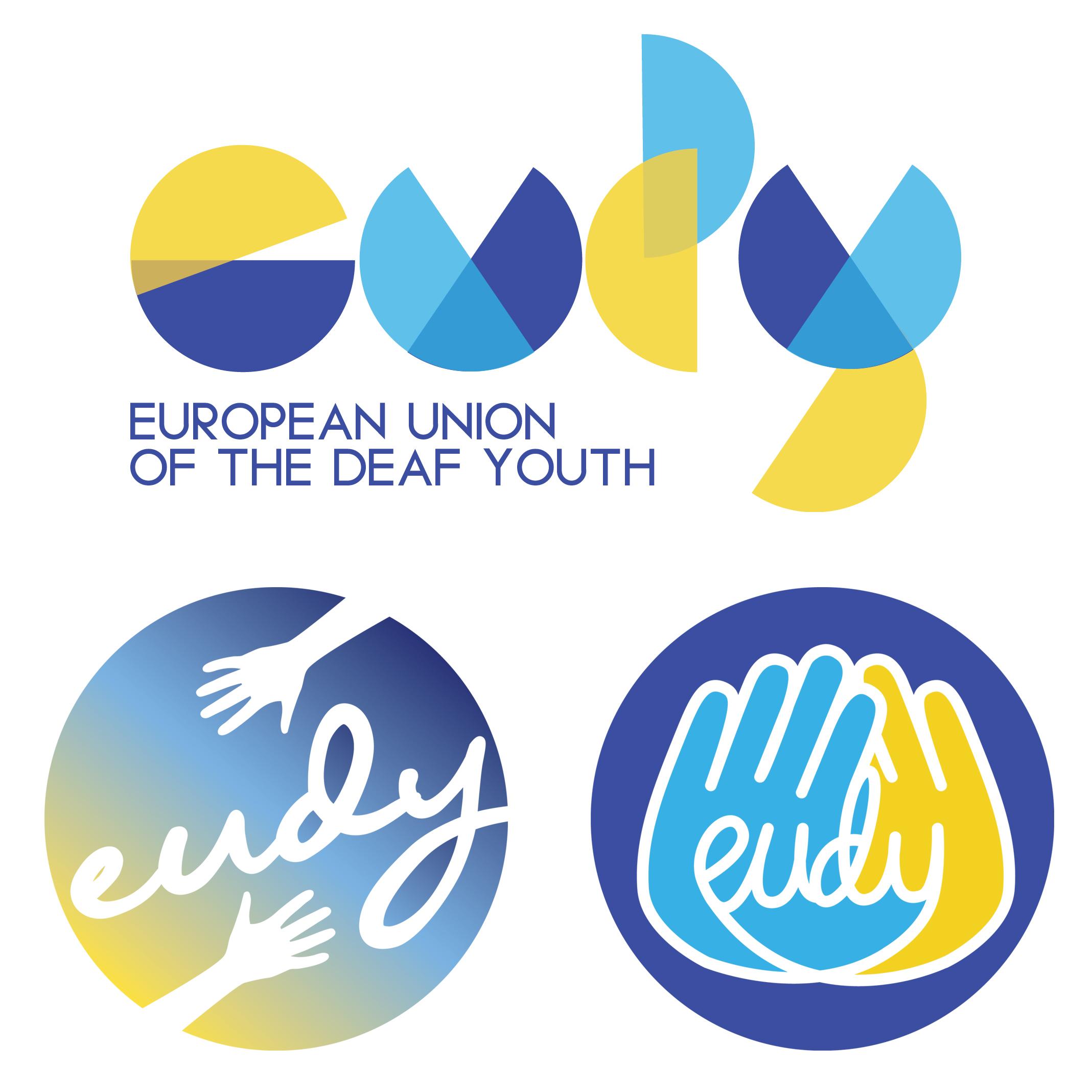 Conceptual logos for Eudy