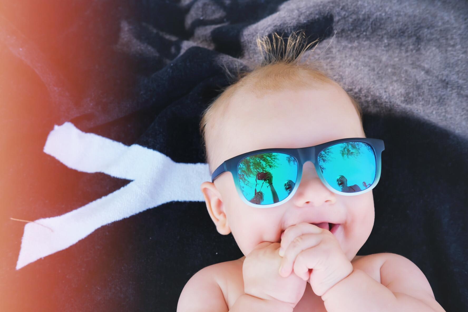 Beach Baby Boy in Hawaii