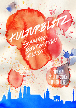 Poster for Kulturblitz Event