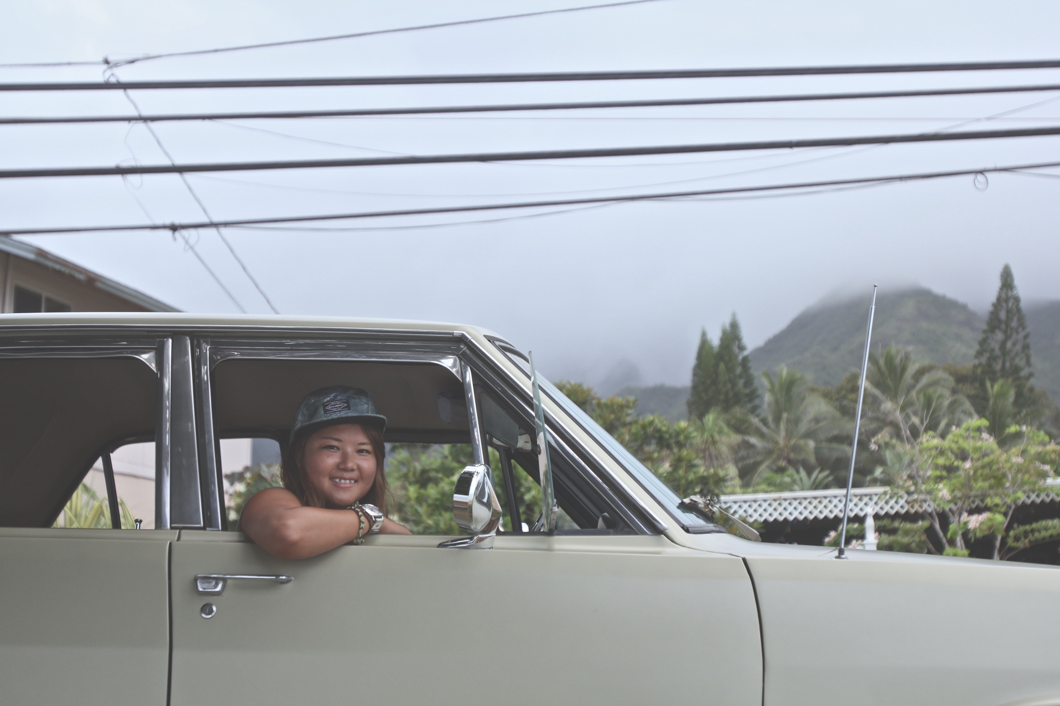 Vintage Car, Hawaii
