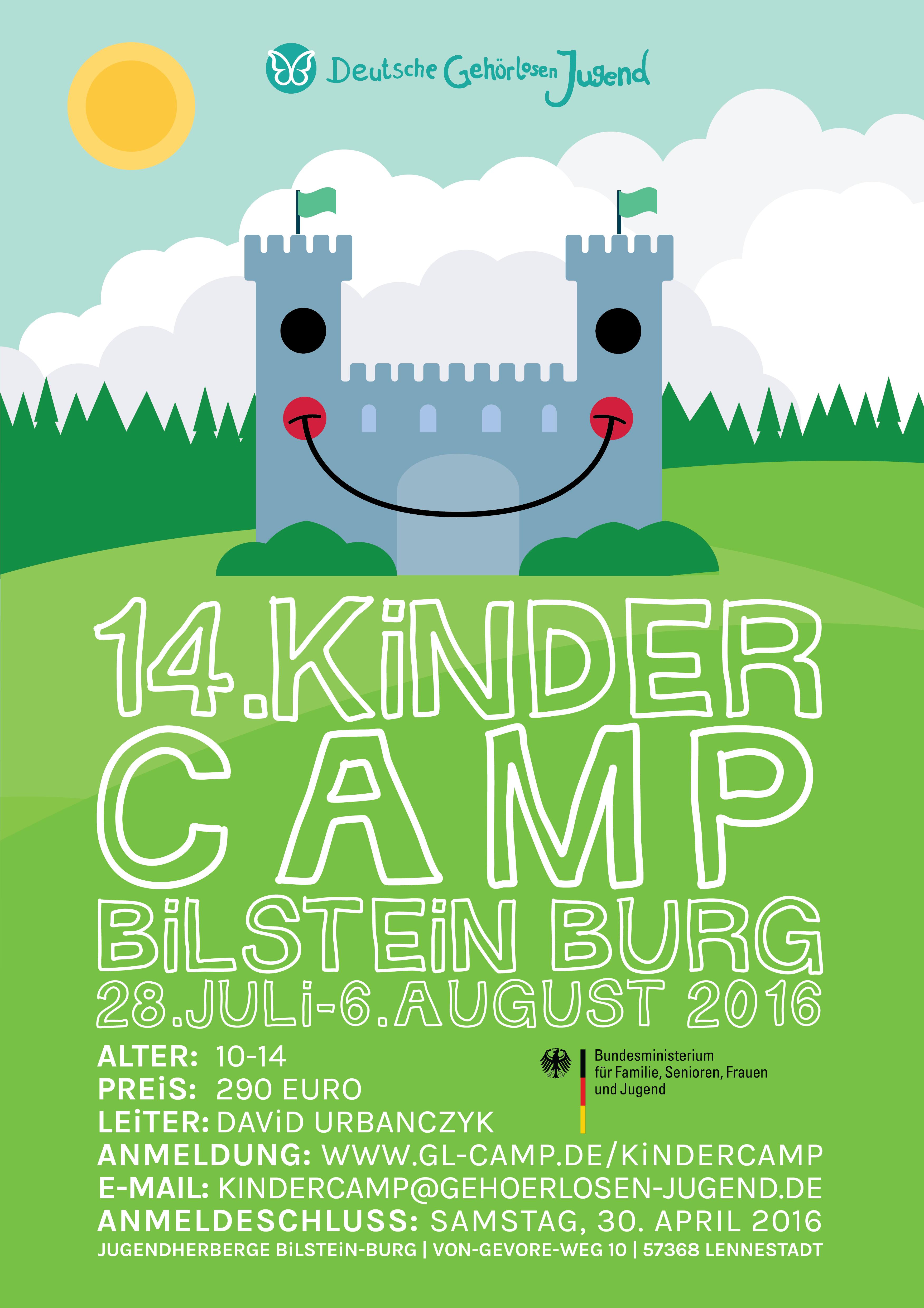 Kinder Camp Poster 2016