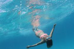 Underwater Moment in Waikiki, Hawaii