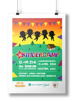Kinder Camp Poster 2014