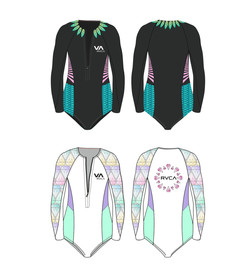 Wetsuit Contest Design for RVCA