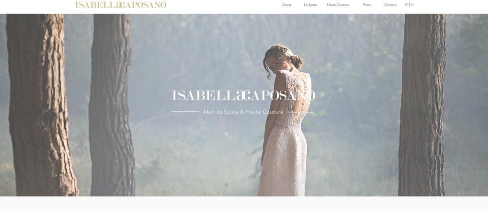 isabella caposano sito web