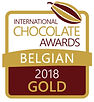 international chocolate awards belgian 2018 GOLD bean to bar