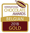 international chocolate awards belgian 2018 GOLD bean to bar