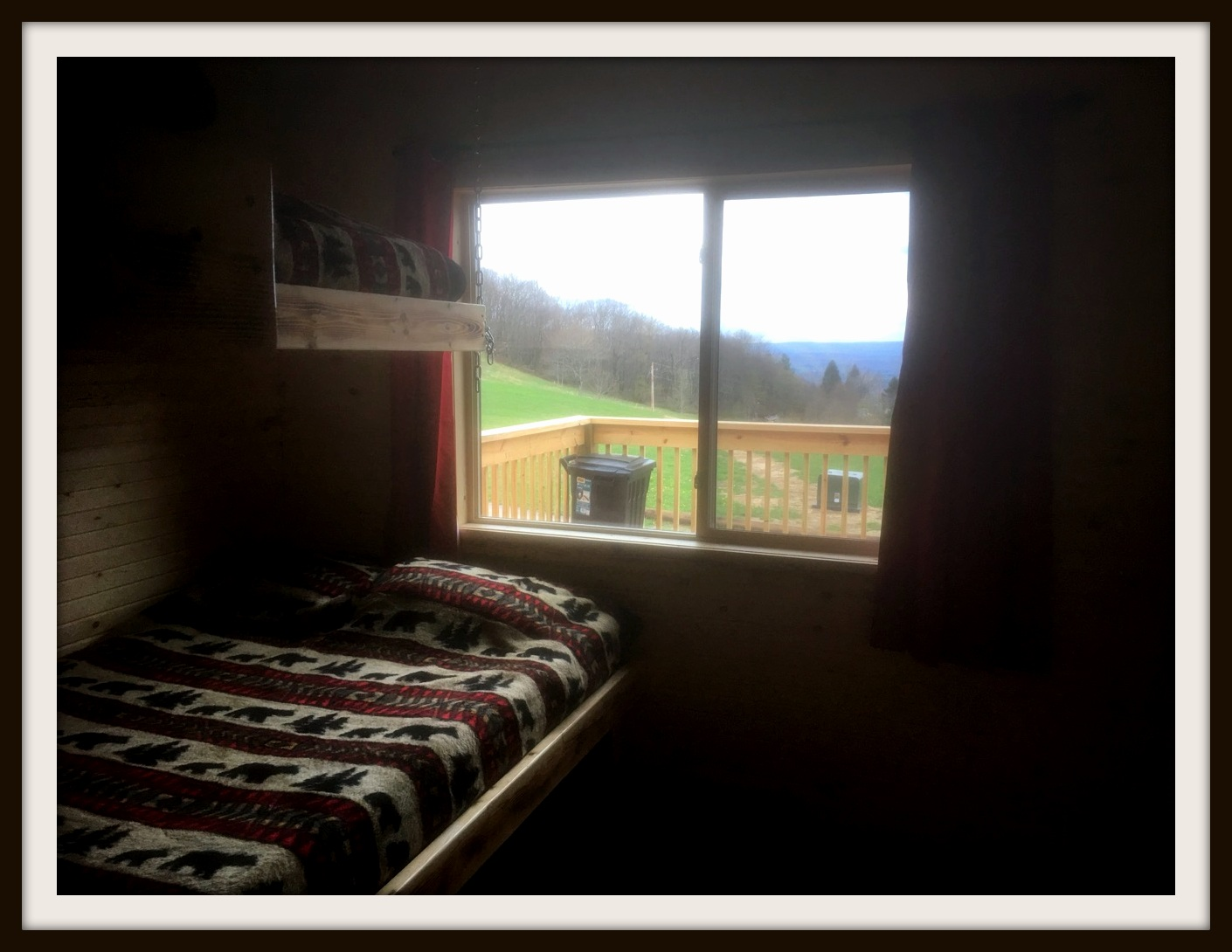 Bunk Room Window
