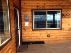 Wolf Cabin Entrance Door